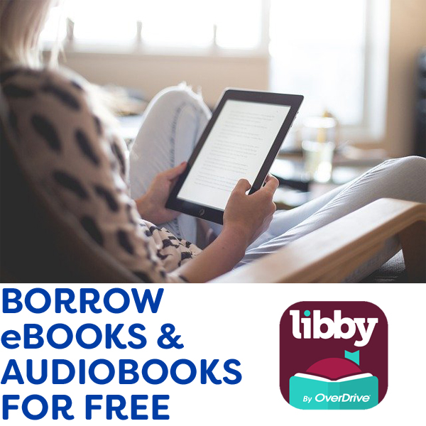 borrow ebooks and audiobooks for free with overdrive